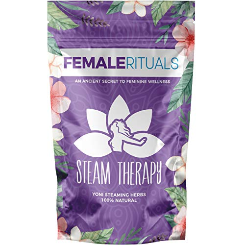 Female Rituals Steam Therapy (2 Ounce) Yoni Steaming Herbs Natural V Steam Yoni Steam Detox Kit