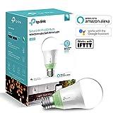 TP-Link Smart LED Wi-Fi E27 Glühbirne, kompatibel zu Amazon Alexa und Google Home, kein Hub...