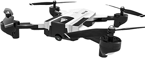 Mingxiao Drone 1080p Gyroscopique 4 Canaux 6 Axes WiFi Drone Rc 1080p 4 Voies Gyroscopique 6 Axes Point Fixe Autour GPS Live
