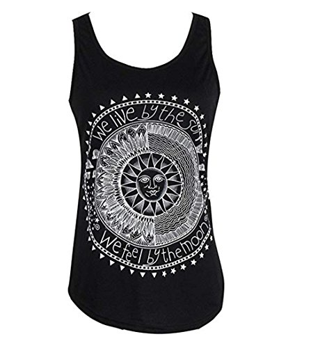 Ropa Camiseta sin Mangas Tank Tops para Mujeres, Verano Sexy Deporte Casual Lace Chaleco Blusa Tops Blusas Crop Tops Vest T Shirt Mujeres