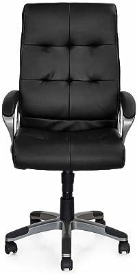 Nilkamal Veneto High Back Office Chair (Black)