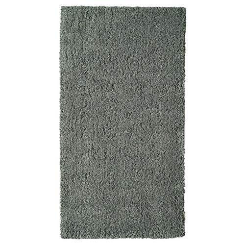 MNZDSQ Moderna Felpa Minimalista para alfombras con máquina Gris Lavable. 022 (Color : Dark Gray, Size : 80x150CM)