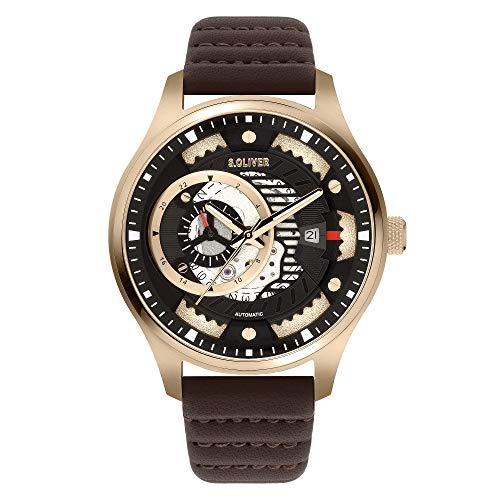 s.Oliver Automatische Uhr SO-3940-LA
