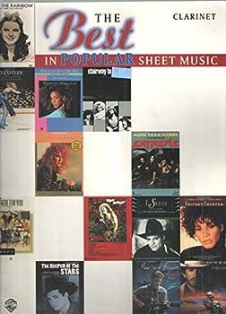 Mass Market Paperback Best in Popular Sheet Music / Clarinet Book