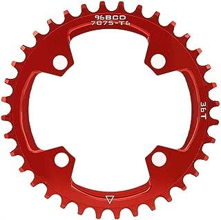Adaptador de ara/ña de Cadena de Aluminio Plateado TSDZ2 CNC 104 BCD 8.5cm//3.3inch Adaptador de ara/ña de Cadena para Bicicleta Bicicleta DIY Huairdum Plato de Bicicleta