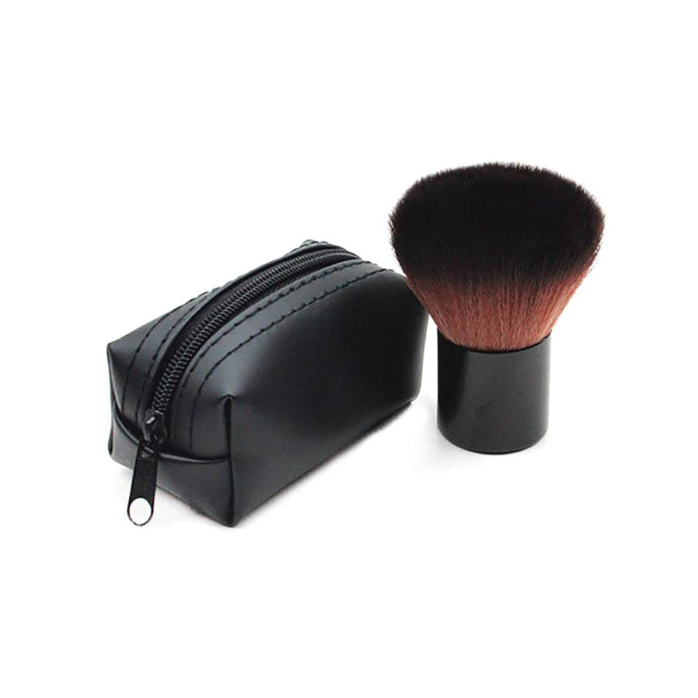 1 Pcs Loose Latest item Powder Brush Blush To Easy Clean Max 45% OFF Mushroo Large