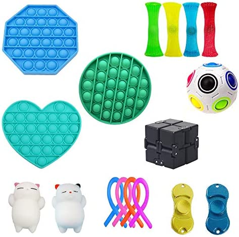 NUENUN Sensory Fidget Toys Set Stress Relief Toy Set Adult Decompression and Anti Anxiety Toys product image