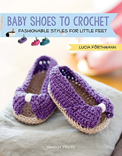 Child Boots Crochet Pattern