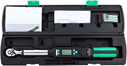 Digital Torque Wrench - 3 Measuring Modes, 4 Torque Units, High Precision Bidirectional Ratchet Wrench,1/4-Inch-Drive(0.5-2.5Nm)