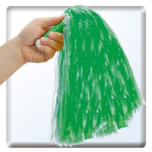 Carnival Pompon Vert avec Manche Réf 4254