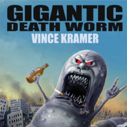 Gigantic Death Worm audiobook cover art