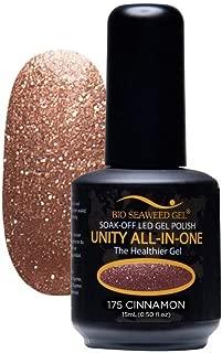 Bio SeaWeed Gel Unity All-In-One UV/LED Gel Polish 175 Cinnamon 15ml