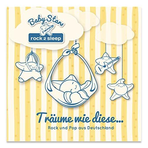 Baby Stars - rock2sleep BSCD003 Audio CD, Rock/Pop-Hits als Spieluhr- und Einschlafmelodien