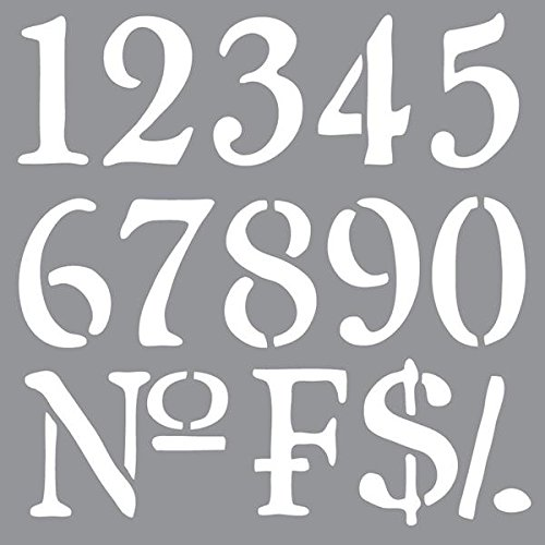 photograph regarding Free Printable 4 Inch Number Stencils titled Range Stencils: .united kingdom