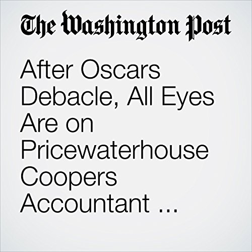 After Oscars Debacle, All Eyes Are on Pricewaterhouse Coopers Accountant Brian Cullinan copertina