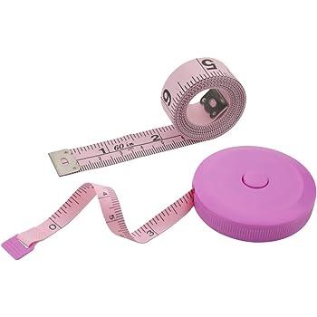 Sewing Scissors+Seam Ripper+Finger Thread Cutter 60-inch Body Tape Measure,Body Measure Tape Set Color Tape Measure