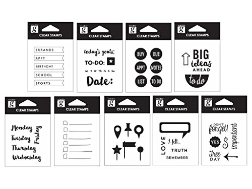 Price comparison product image Studio G SUGVC-64.1 Clear Stamps 2EA / 9 Bulk (Pack of 18)
