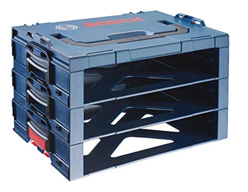 Bosch Professional 3-Teilige Aufbewahrungsbox i-BOXX shelf