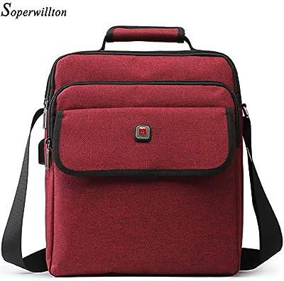Men Bag Flap PocketTotes Handbag Oxford Brand 2019 Crossbody Female Male Khaki Travel