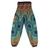 NoBrand Pantalon De Yoga Lâche À La Mode Bloomers Style Sarouel Sarouel Yoga Thaïlandais Porter des Pantalons Décontractés pour Femmes