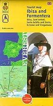 Ibiza and Formentera Tourist Map: Plano callejero (Mapas turísticos/ serie amarilla)