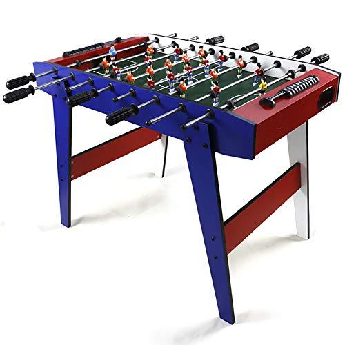 softneco Tischfußball Spiel Für Kinder Und Erwachsene Nach Hause,Professionelle Tischkicker Tisch Mit 8 Griff,Holz Kickertisch Wettbewerb Dimension A
