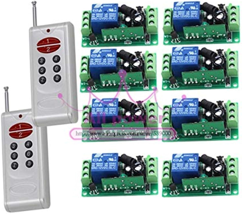 12V 8CH 8CH 8CH RF Wireless Remote Control Switch System