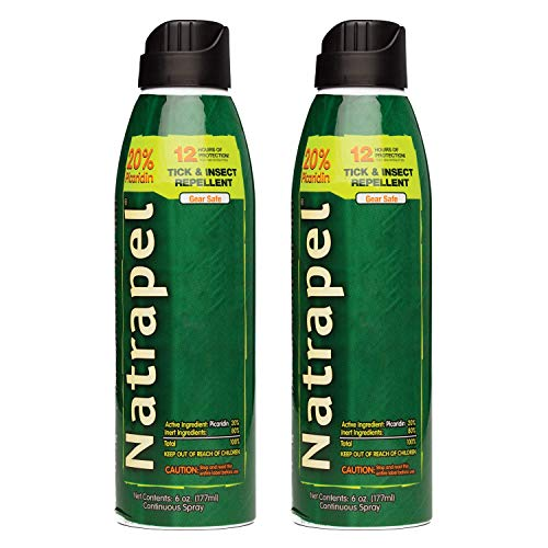 Natrapel Insect Repellent Spray, 6 oz (Pack of 2)
