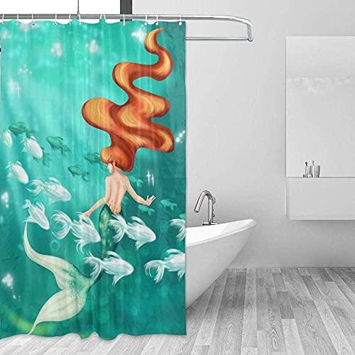 Badevorhang Oktopus-Tentakel Badewannen Vorh?Nge Anti-Schimmel Und Wasserabweisend 180*180Cm Top Qualität Wasserdicht, Anti-Schimmel-Effekt 3D Digitaldruck Inkl. 12 Duschvorhangringe Für Badezimm