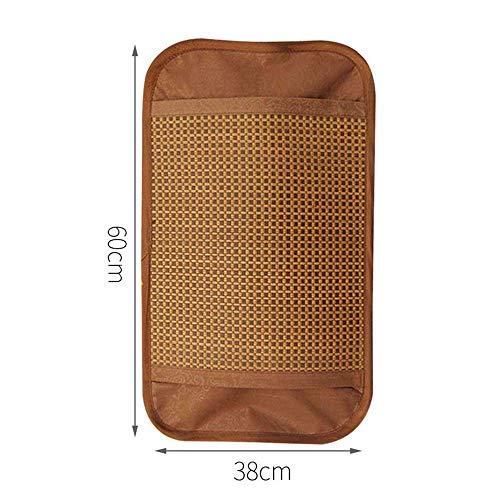 TreeLeaff Cool fundas de almohada para cabello y piel, 1 funda de almohada para ayudar a dormir ratán transpirable 38 x 60 cm