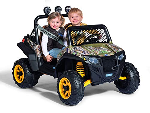 Peg Perego Polaris RZR 900 CAMO Ride On, Multi-Colored, 12