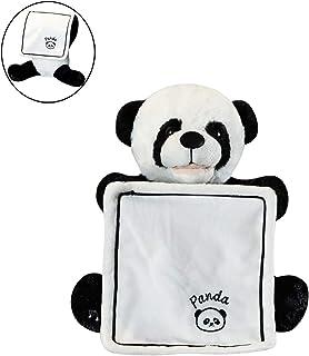 Gutsbox Peek-A-Boo Panda de Peluche Juguete Interactivo Canciones de Canto Música Felpa Panda Animal de Peluche Panda Juguete Eléctrico para muñecas para Bebé / Niños