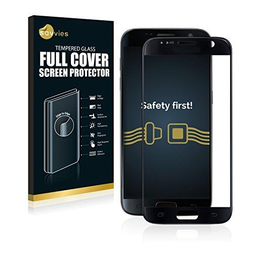 savvies Cristal Templado Completo Compatible con Samsung Galaxy S7 3D Cobertura Completa...