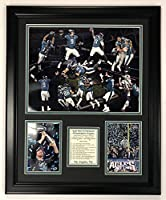 """Legends Never Die Philadelphia Eagles - 2017 Super Bowl LII Champions - Collage - Framed 18""""x22"""" Double Matted Photos, Inc."""