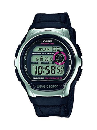 Casio Reloj Digital para Hombre de Cuarzo con Correa en Tela WV-M60B-1AER