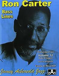 Bass Lines Aebersold 12 Duke Ellington By Ron Carter