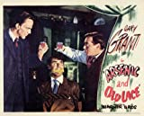 Pop Culture Graphics Arsenic and Old Lace Poster Movie (1944) Style A 11 x 14 Inches - 28cm x 36cm (Cary Grant)(Priscilla Lane)(Raymond Massey)(Jack Carson)(Edward Everett Horton)