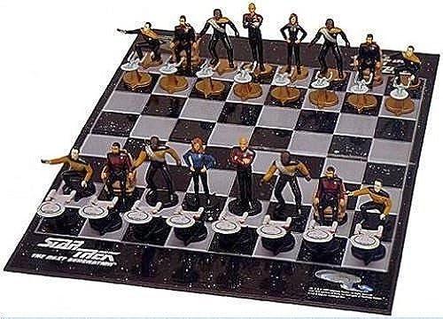 echa un vistazo a los más baratos Star Star Star Trek Chess Set the Next Generation by Crown & Andrews  clásico atemporal