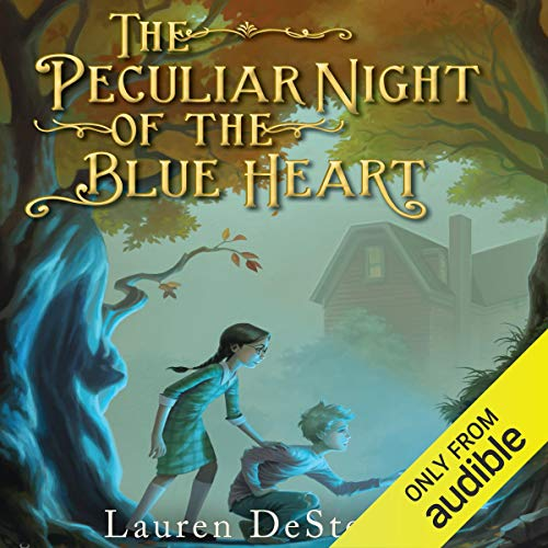Couverture de The Peculiar Night of the Blue Heart