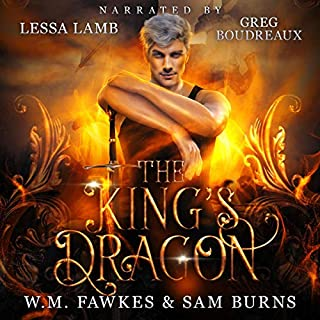 The King's Dragon cover art