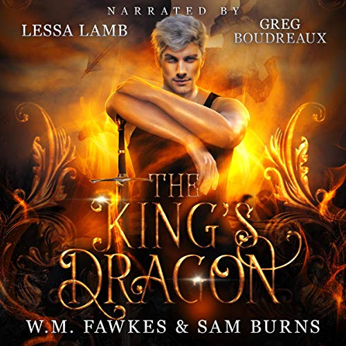The King's Dragon  By  cover art