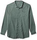 Columbia Cornell Woods Flannel Long Sleeve Shirt Camisa, Aqua Tone Plaid, S para Hombre