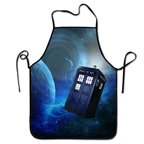 RESULT LOVE Fashion Custom Doctor Who Chef Kitchen Cooking and Baking Bib Apron