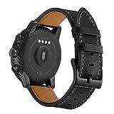 AISPORTS Cinturino per Orologio a Sgancio Rapido da 20mm Compatibile con Amazfit Bip/Bip Lite/GTR 42mm Cinturino in Pelle,Cinturino di Ricambio con Morbido e Traspirante per Amazfit GTS 2/GTS 2e/GTS
