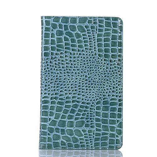 QiuKui Tab Funda para Samsung Galaxy Tab S5E 10.5 T720 T725 2019, Caja de Lujo Caja de Cuero de Cuero para Samsung T720 T725 (Color : Blue)