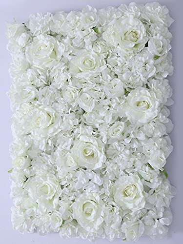 FB0112-01 White Dripping Hydrangea artificial flower \u2013 white flower crown \u2013 white home decor \u2013 white table runner \u2013 white aisle runner