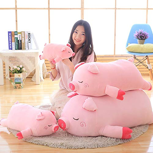 N / A Bigger Size Toys Cute Pig Plush Toys Pig Pillow Soft Cushion Birthday Gift For Kid Baby 100cm