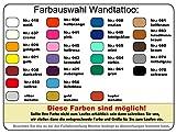 Wandtattoo Insel Rügen Wandaufkleber in 5 Größen und 25 Farben (17x20cm aubergine) - 4