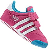 adidas Originals Dragon Bambini Walker Scarpe Bambino Bambino Scarpe per Gattonare Rosa - Rosa, 21