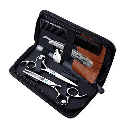 DANTB Kit Ciseaux de Coiffure Professionne 6.0\